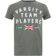 T-Shirt Homme Varsity Team Players Union - Vert