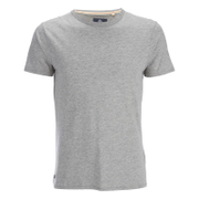 T-Shirt Homme Threadbare William - Gris Chiné