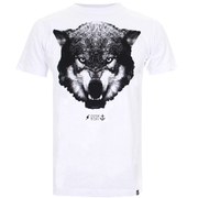 Cotton Soul Men's Wolf T-Shirt - White