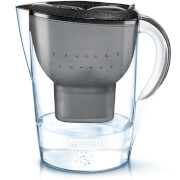 BRITA Marella Cool Water Filter Jug - Black Glitter (2.4L)