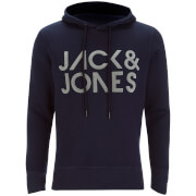 Sweat à Capuche Jack & Jones pour Homme Core Sharp -Marine