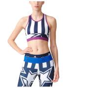 adidas Women's Stella Sport Crop Training Bra - Night Indigo