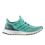 adidas Women's Ultra Boost Running Shoes - Green