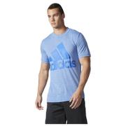 adidas Men's Basic Logo Training T-Shirt - Blue
