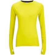adidas Women's Climaheat Training Long Sleeve Top - Yellow