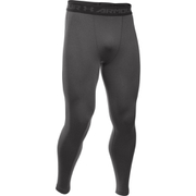 Under Armour Men's Armour HeatGear Compression Training Leggings - Carbon Heather/Black