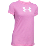 Under Armour Women's Favorite Big Logo Short Sleeve T-Shirt - Verve Violet