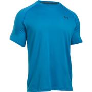 Under Armour Men's Tech Short Sleeve T-Shirt - Brilliant Blue/Stealth Grey