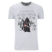 Star Wars Herren The First Order T-Shirt - Grau