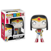 Teen Titans Go! Raven as Wonder Woman Limited Edition Funko Pop! Figur