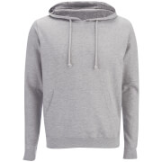 Brave Soul Men's Clarence Hoody - Grey Marl