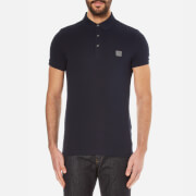 BOSS Orange Men's Pavlik Pique Polo Shirt - Dark Blue