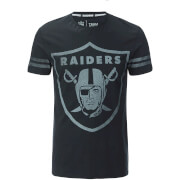 NFL Men's Oakland Raiders Logo T-Shirt - Black