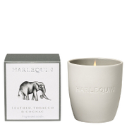 Harlequin Savanna Leather Tobacco and Cognac Reed Tumbler Candle
