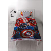 Captain America: Civil War Rotary Duvet Set