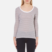 Selected Femme Women's Sila 7/8 Top - Snow White