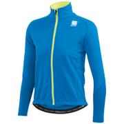 Sportful Kids' Softshell Jacket - Blue/Yellow