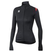 Sportful Women's Fiandre Light NoRain Long Sleeve Jersey - Black