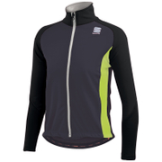 Sportful Kids' Softshell Jacket - Black/Yellow