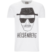 T-Shirt Homme Breaking Bad Heisenberg - Blanc