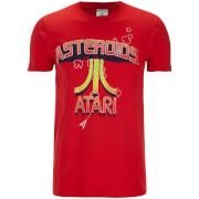 Atari Men's Asteroids Atari Vintage Logo T-Shirt - Red