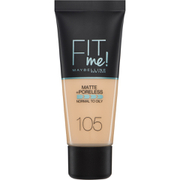 Maybelline Fit Me! Matte and Poreless Foundation 30ml (Various Shades)