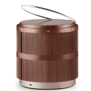 Lexon Fine Rechargeable Radio - Burgundy