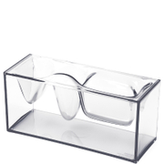 Lexon Liquid Station Desktop Organiser - Clear