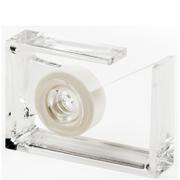 Lexon Roll Air Tape Dispenser - Clear