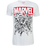 Marvel Herren Collection T-Shirt - Weiß