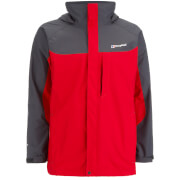 Berghaus Men's Gamma Long Jacket - Extreme Red/Carbon