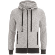 Sweat à Capuche Smith & Jones pour Homme Cimborio -Gris Chiné