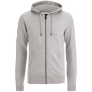 Sweat à Capuche Smith & Jones pour Homme Amorino -Gris Chiné