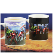 Marvel Heat Changing Mug
