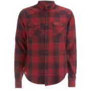 Smith & Jones Men's Exedra Check Shirt - Cordovan Red
