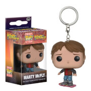 Back to the Future Marty on Hoverboard Pocket Pop! Sleutelhanger