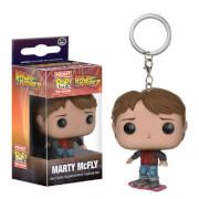 Retour vers le futur Marty McFly Porte-clés Pocket Pop!