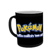 Pikachu Heat Activated Mug