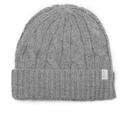 Selected Homme Men's Croft Beanie - Light Grey Melange