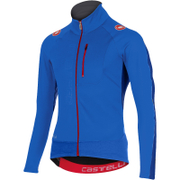Castelli Trasparente 3 Wind Long Sleeve Jersey - Blue