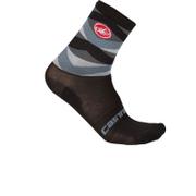 Castelli Fatto 12 Socks - Black/Grey
