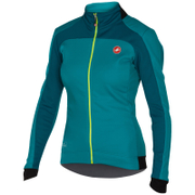 Castelli Women's Mortirolo 2 Jacket - Turquoise/Blue
