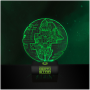 Star Wars Rogue One Death Star Acrylic Light
