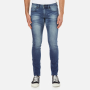BOSS Orange Men's Orange 72 Light Wash Jeans - Blue