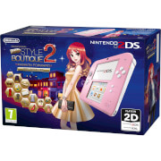 Nintendo 2DS Pink/White + New Style Boutique 2