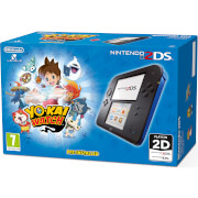 Nintendo 2DS Black/Blue + YO-KAI WATCH