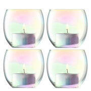 LSA Pearl Tealight Holders (Set of 4)