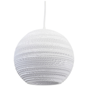 Graypants Moon Pendant - 10 Inch - White