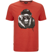 Animal Men's Loko T-Shirt - Volcano Red Marl