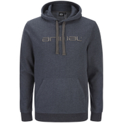 Animal Men's Luna Hoody - Total Eclipse Navy Marl
